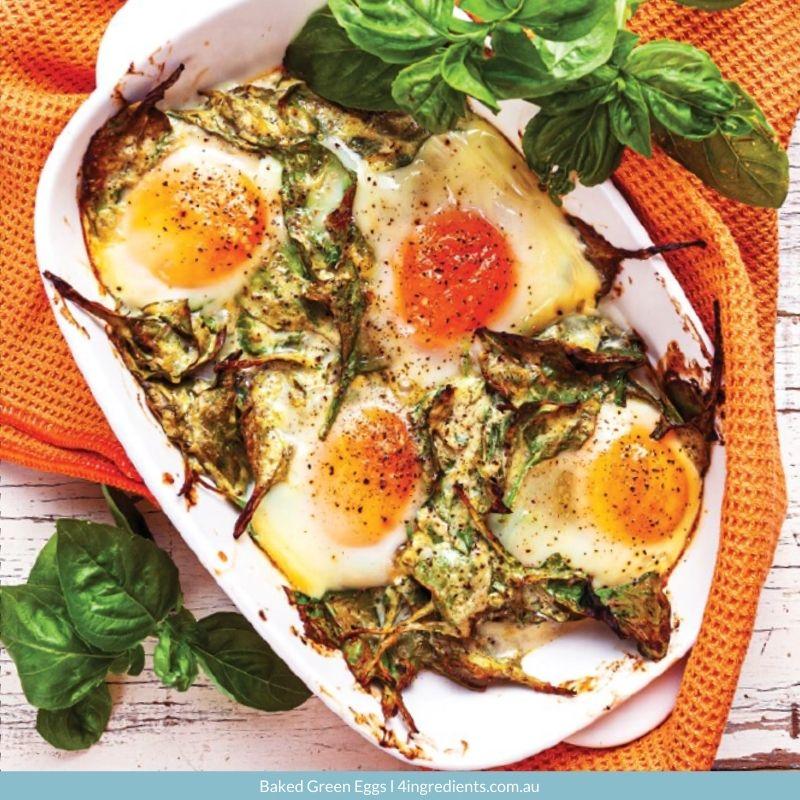 Baked Green Eggs
