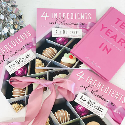 4 Ingredients Christmas + a FREE COPY of Ten Years In