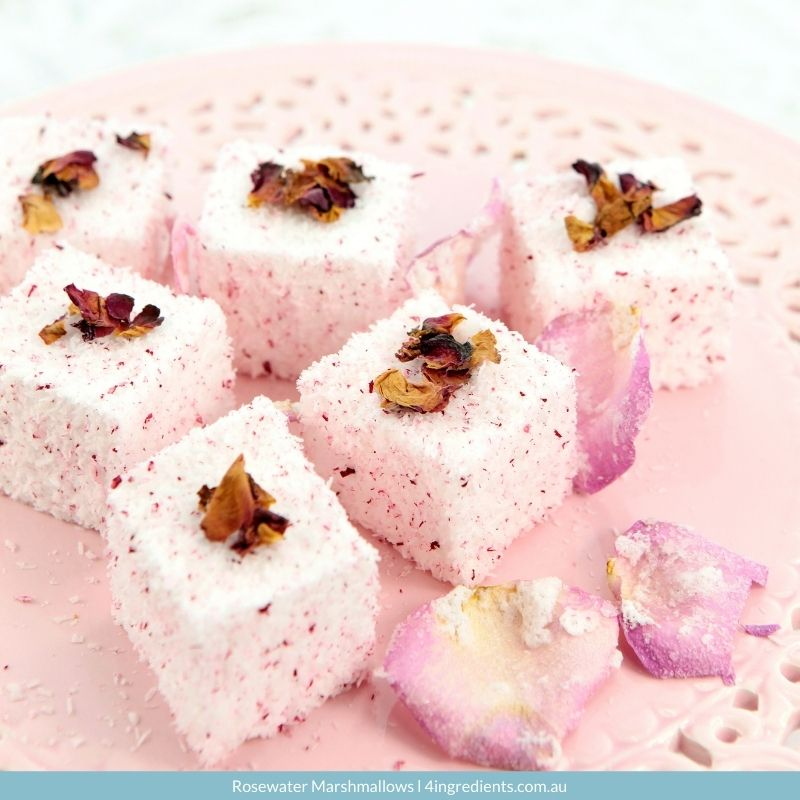 Rosewater Marshmallows