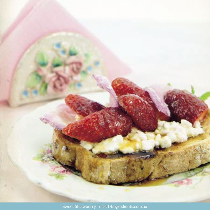 Sweet Strawberry Toast