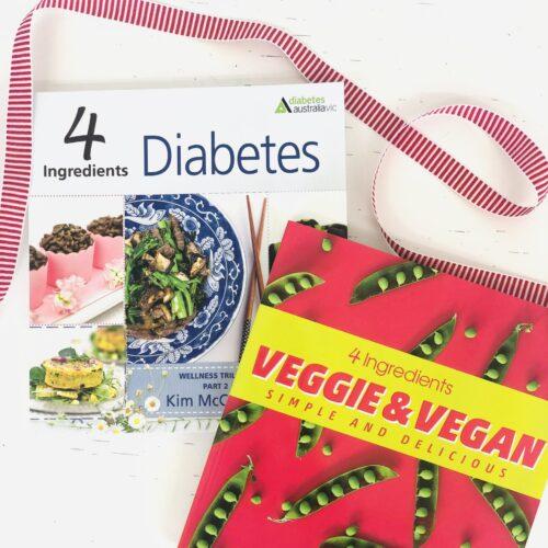 4 Ingredients Diabetes + 4 Ingredients Veggie & Vegan