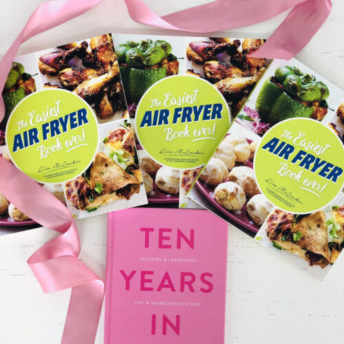 3 copies of The Easiest Air Fryer Book ever + A FREE copy of Ten Years In