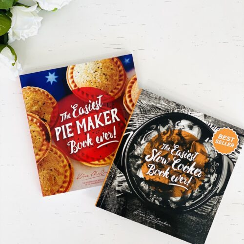 The Easiest Pie Maker Book ever + The Easiest Slow Cooker Book ever