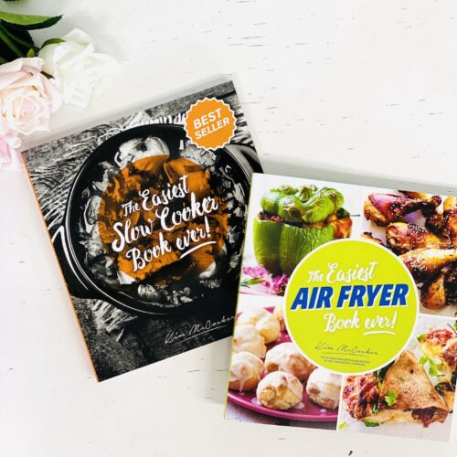 The Easiest Slow Cooker Book ever + The Easiest Air Fryer Book ever