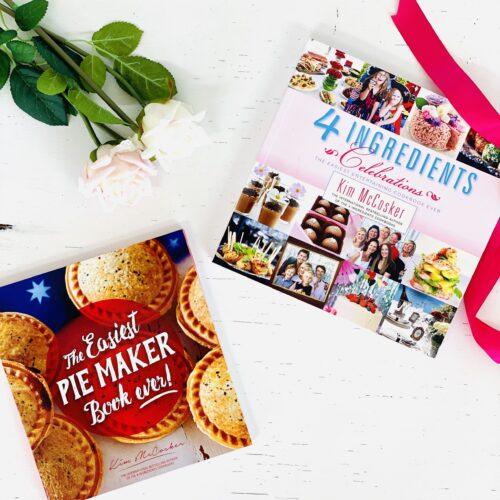 The Easiest Pie Maker Book ever + 4 Ingredients Celebrations