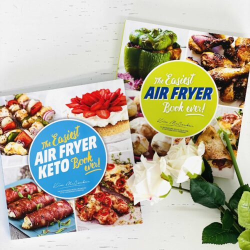 The Easiest KETO Air Fryer Book ever + The Easiest Air Fryer Book ever