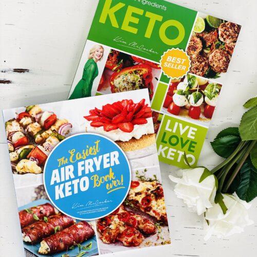 4 Ingredients KETO + The Easiest Air Fryer KETO Book ever